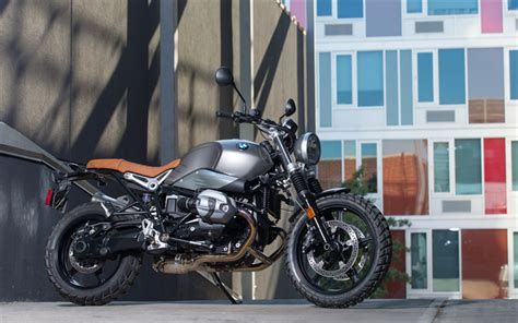 wallpapers bmw r ninet scrambler 4k 2017 bikes