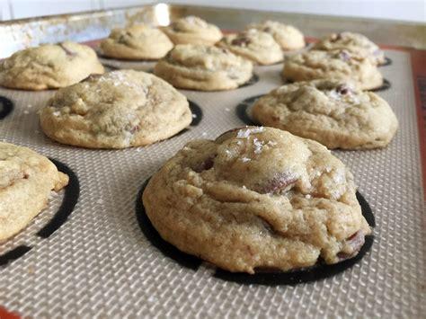 salted chocolate chip cookies popsugar food
