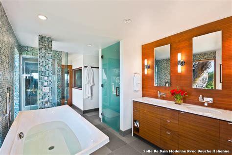 salle de bain moderne avec italienne with contemporain salle de bain d 233 coration de la