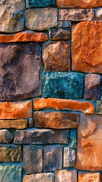 Wall Brick Iphone Colorful Background Stone Wallpapers