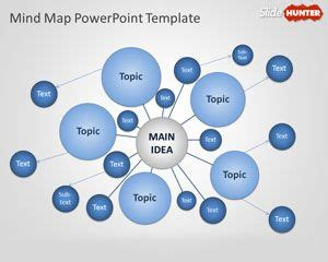 free mind map template free brainstorm powerpoint templates free ppt powerpoint backgrounds slidehunter
