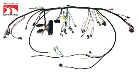 1967 Ford Mustang Wire Harnes Diagram by Premium Dash Wiring Harnesses With