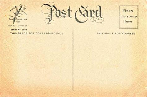 Vintage Postcard Template Vintage Backgrounds Free Vintage Postcard Back 7 Flickr Photo