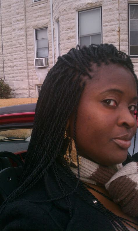 small senegalese twist  black women hairstylo