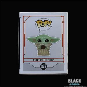 Funko Pop! Star Wars The Child with Cup Mandalorian Baby ...