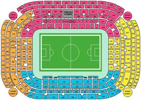 Stadio San Siro Ingresso 7 by San Siro Seating Chart And Information Football Stadium
