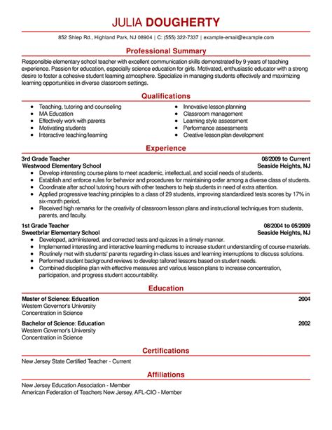 professional senior manager executive resume samples