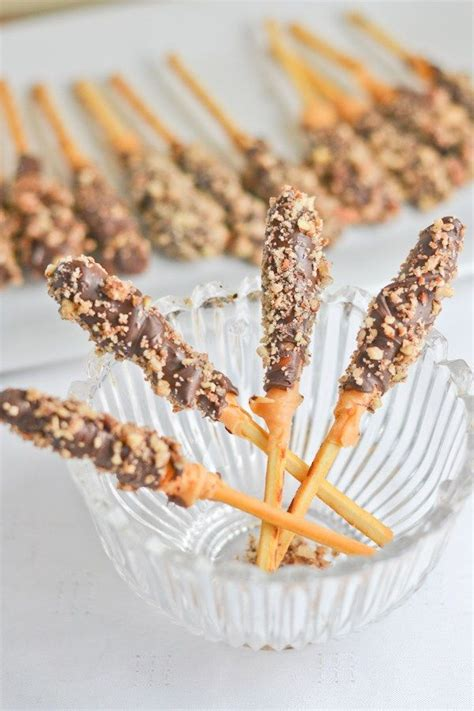 Gourmet Chocolate Covered Pretzels Rods