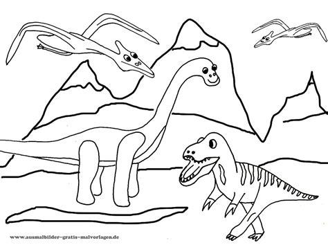 ausmalbilder dinos kostenlos malvorlagen zum ausdrucken