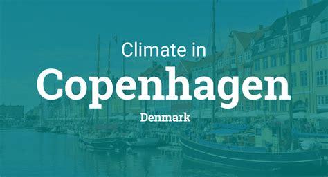 climate weather averages  copenhagen denmark