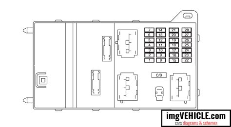 Ford Fusion 2010 Fuse Box Acces by Ford Fusion I Fuse Box Diagrams Schemes Imgvehicle