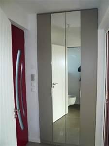 elegance rangement placard chambre sur mesure With porte d entrée pvc avec porte de placard salle de bain sur mesure