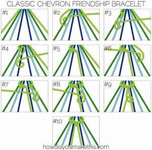 Classic Chevron Friendship Bracelet