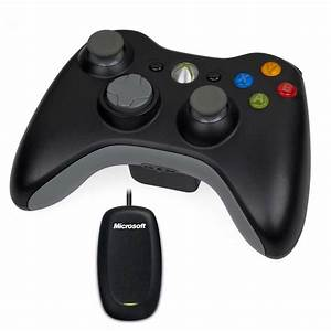 Microsoft Wireless Controller Noir Wireless Gaming