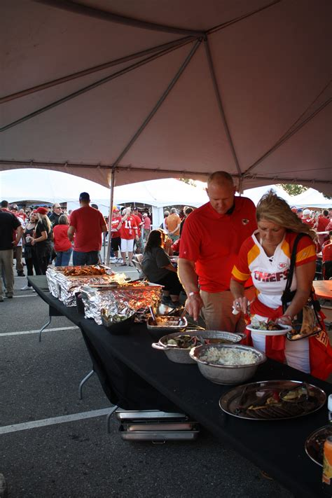 chiefs tailgating party vip style join  party