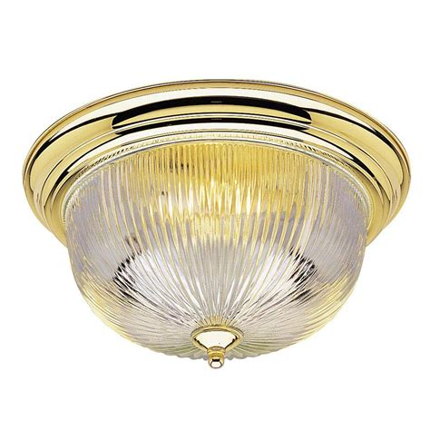 home depot flush mount ceiling light fixtures westinghouse 3 light ceiling fixture polished brass