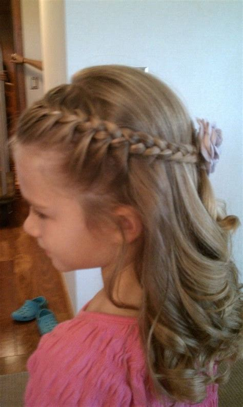 flower girl braids keep hair picture perfect all day