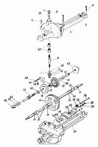 Mtd 13ah660f352  1999  Parts Diagram For Transmission