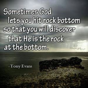 Motivational Quotes About Hitting Rock Bottom