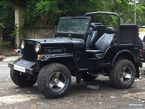 mahindra jeep classic modified