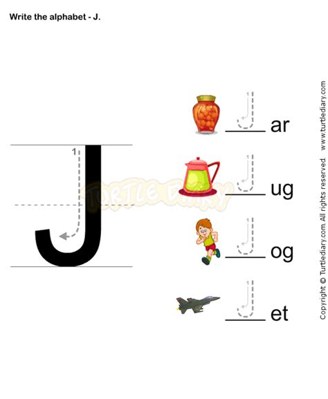 letter writing j esl efl worksheets preschool