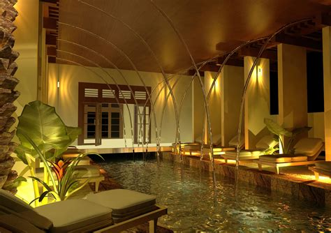 spa decor spa design  max vray rendering decor