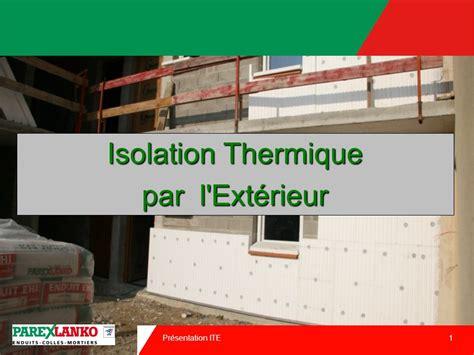 30 03 2017 isolation thermique par l ext 233 rieur ppt t 233 l 233 charger