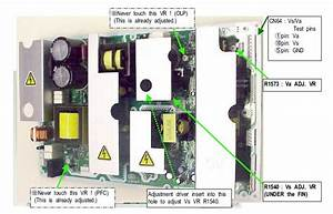Hitachi Plasma Tv 42hds52 Dead  No Lights  Will Not Turn On  Power And Fuse On Filter Board Is
