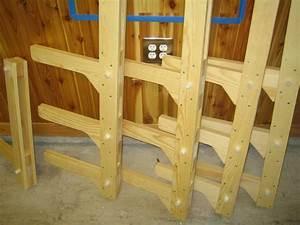 Wood Storage Rack Design Plans DIY Free Download plans for