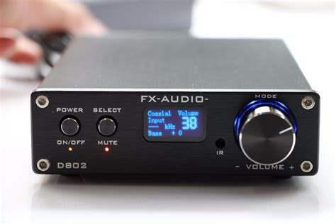 Buy Fx Audio D802 Remote Control Input