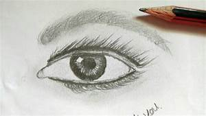 How to draw Realistic Eyes Easy Step by Step, Art Drawing ...