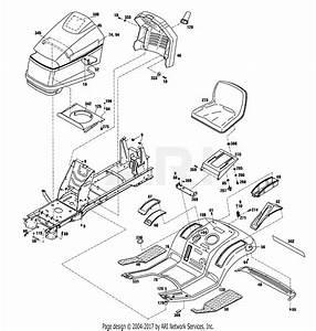 Troy Bilt 13123 14hp Hydrostatic Ltx Tractor  S  N