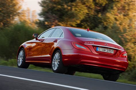 mercedes benz cls coupe   driving