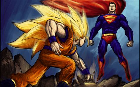 goku  superman wallpapers wallpaper cave