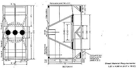 build diy plans   speaker box  plans wooden plans