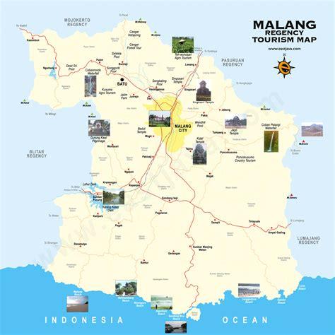 peta wisata malang paket wisata malang batu bromo kawah