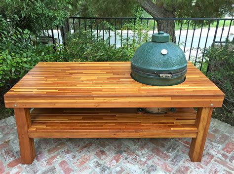 table with grill built in outdoor wood table with built in grill storage forever