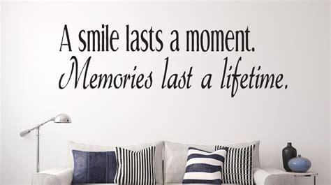 A Smile Lasts A Moment Wall Decal Quotes  Christian. Best Depression Quotes Ever. Travel Quotes Lovers. Inspirational Quotes Of The Day For Work. Adventure Quotes Helen Keller. Karrueche Tattoo Quotes. Funny Quotes Grandma. God King Quotes. Girl Quotes Being Yourself