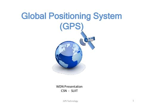 Global Positioning System (gps