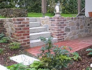 Steine Mauer Garten : mauer trockenmauer stein gartengestaltung gartenbau reischl bayerischer wald ~ Watch28wear.com Haus und Dekorationen