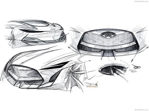 1019 Best Car Design // Exterior Sketches Images On