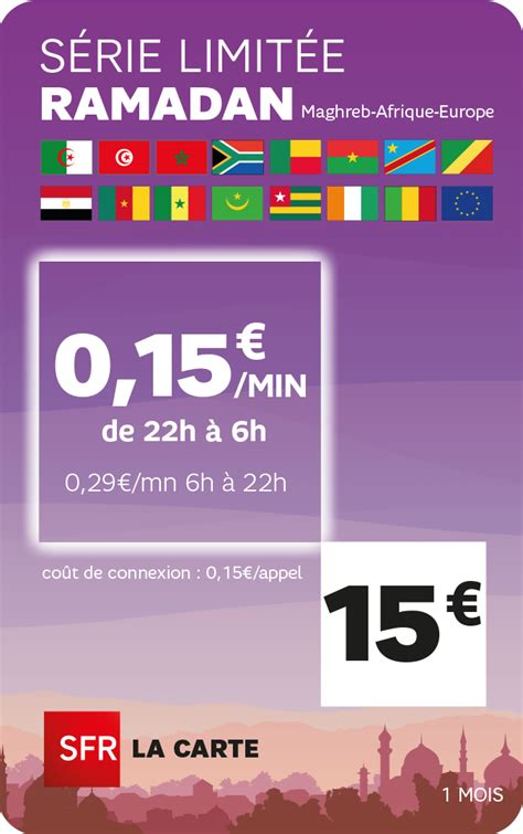 Carte Sim Europe Canada by Sfr Altice International