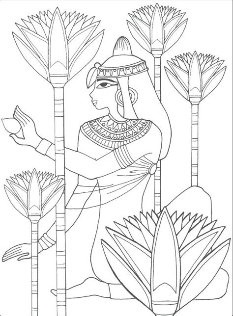 cleopatra coloring page  getcoloringscom  printable colorings pages  print  color
