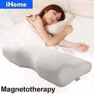 top quality magnetotherapy memory foam orthopedic neck With best rated cervical pillow