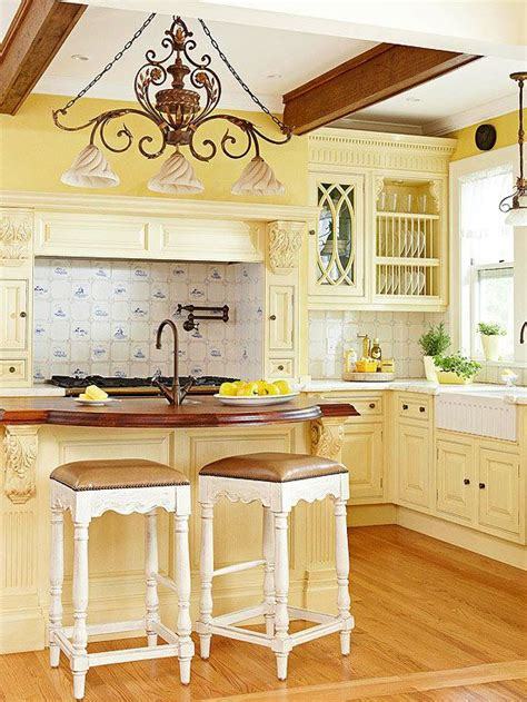 country yellow kitchens yellow paint for kitchens pictures ideas tips from 2969