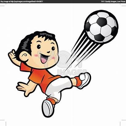 Kick Clipart Football Kicking Player Clip Foot