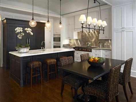 black  white kitchen  stainless steel mini brick