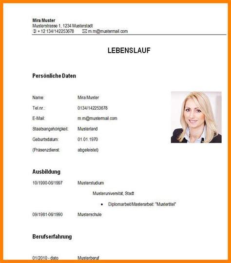 Lebenslauf Student Muster by 15 Lebenslauf Bis Dato Karlton Says