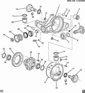 Cadillac Cts Rear Differential Pinion Seal