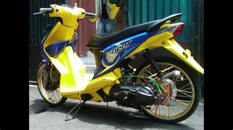 Modivikasi Motor Beat by Modifikasi Motor Honda Beat Newhairstylesformen2014